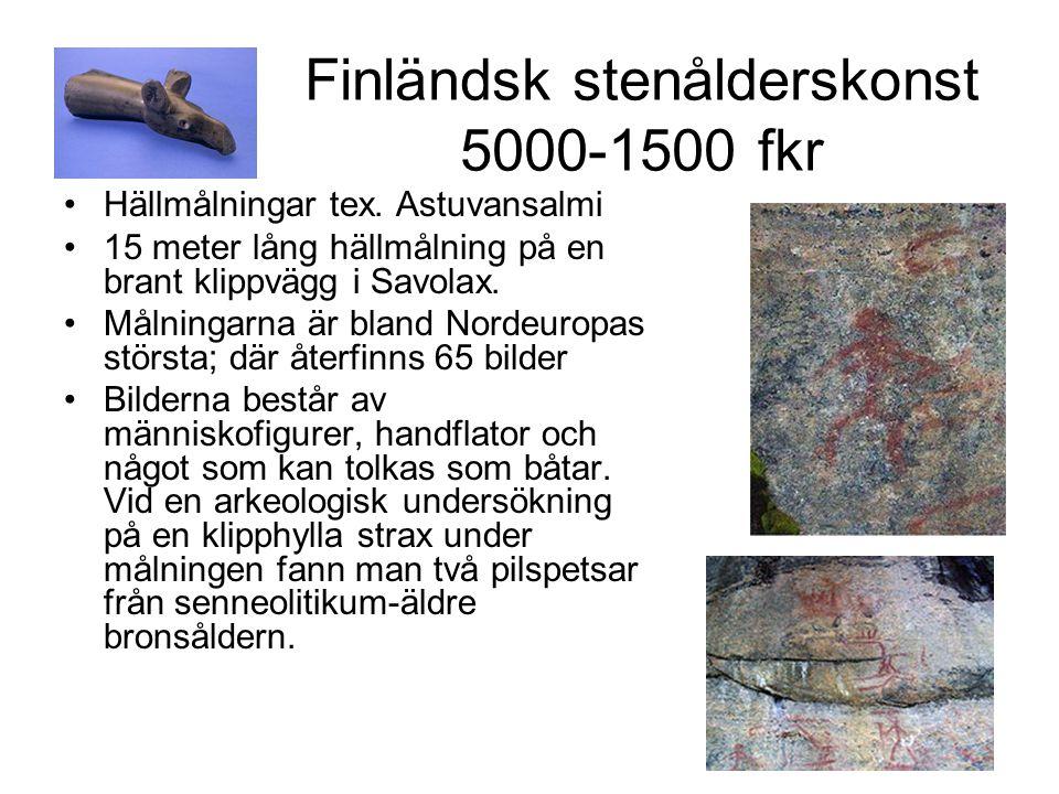 Finländsk stenålderskonst 5000-1500 fkr