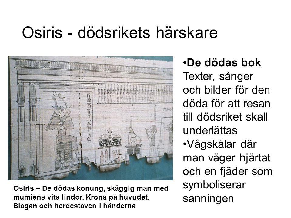 Osiris - dödsrikets härskare