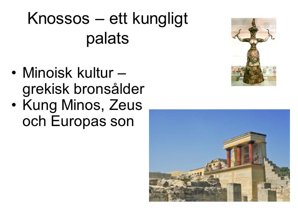 Knossos – ett kungligt palats