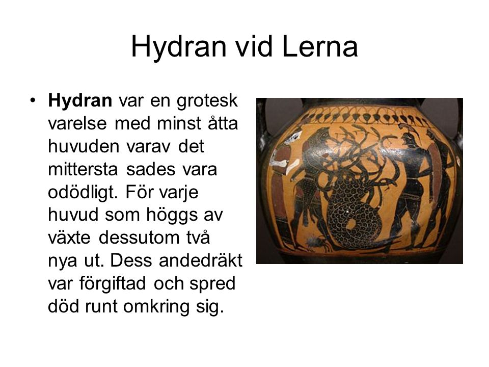 Hydran vid Lerna