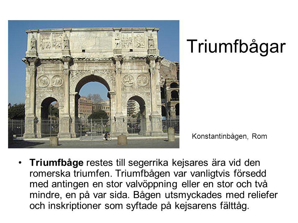 Triumfbågar Konstantinbågen, Rom.