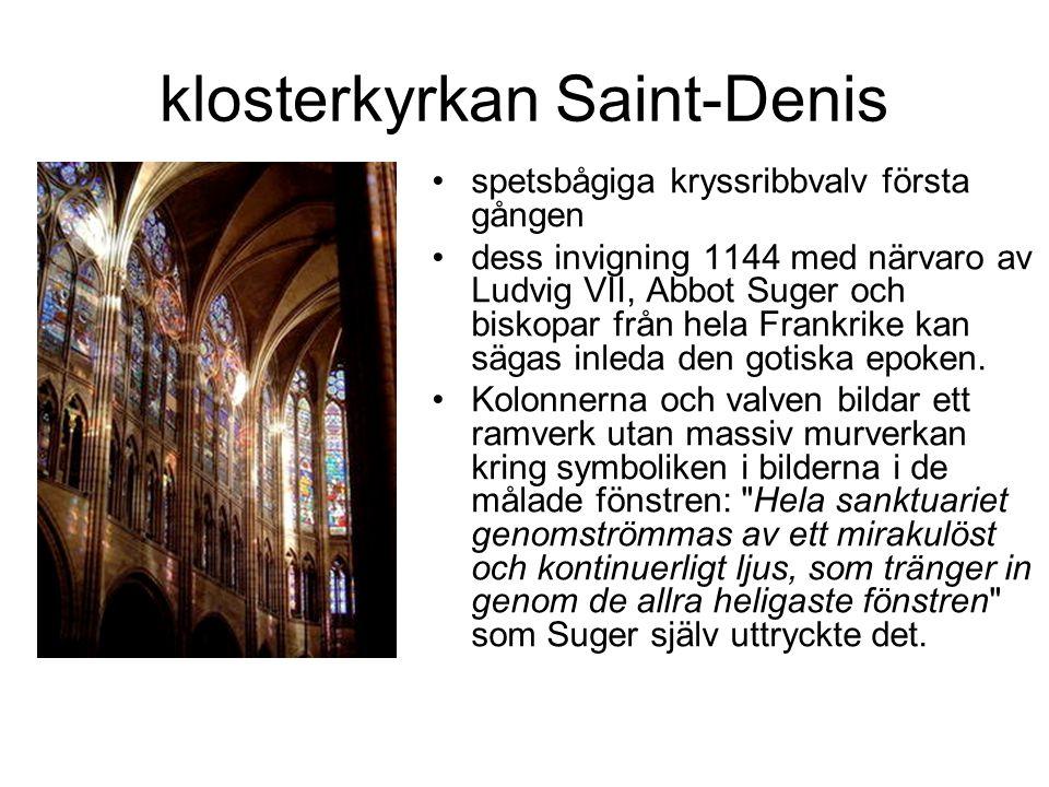 klosterkyrkan Saint-Denis