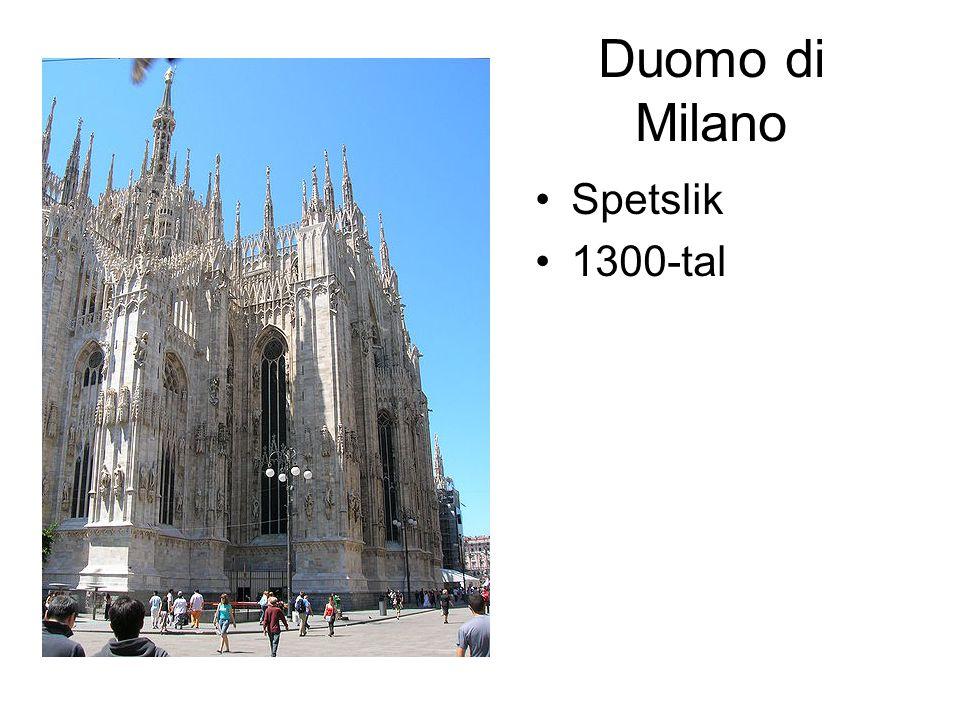 Duomo di Milano Spetslik 1300-tal