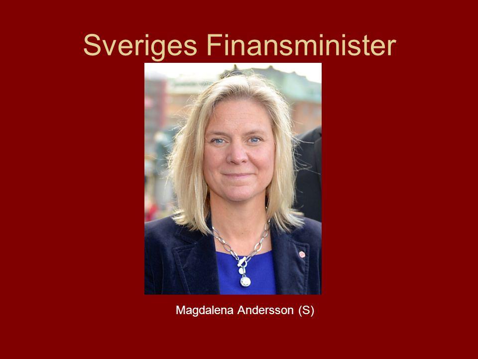 Sveriges Finansminister