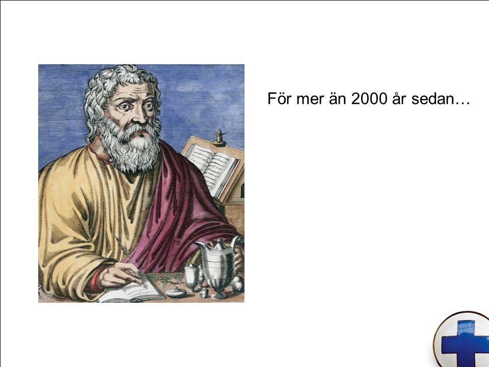 För mer än 2000 år sedan…