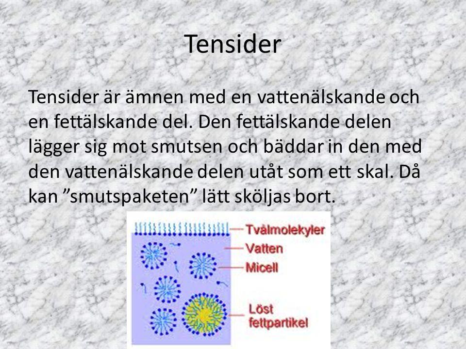 Tensider