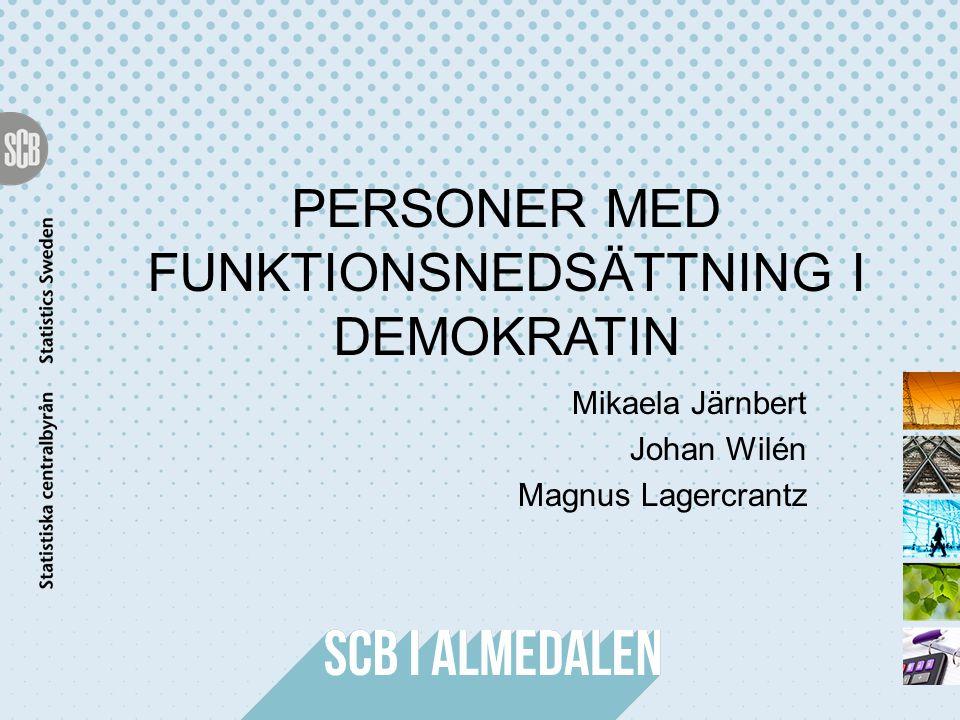 Personer med funktionsnedsättning i demokratin
