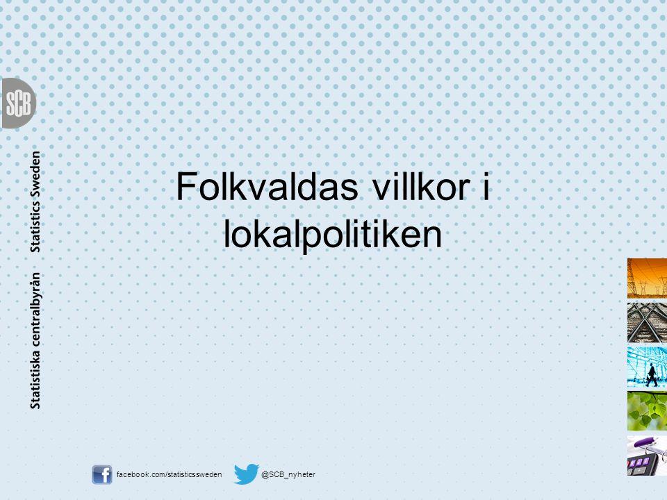 Folkvaldas villkor i lokalpolitiken