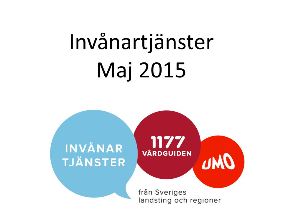 Invånartjänster Maj 2015