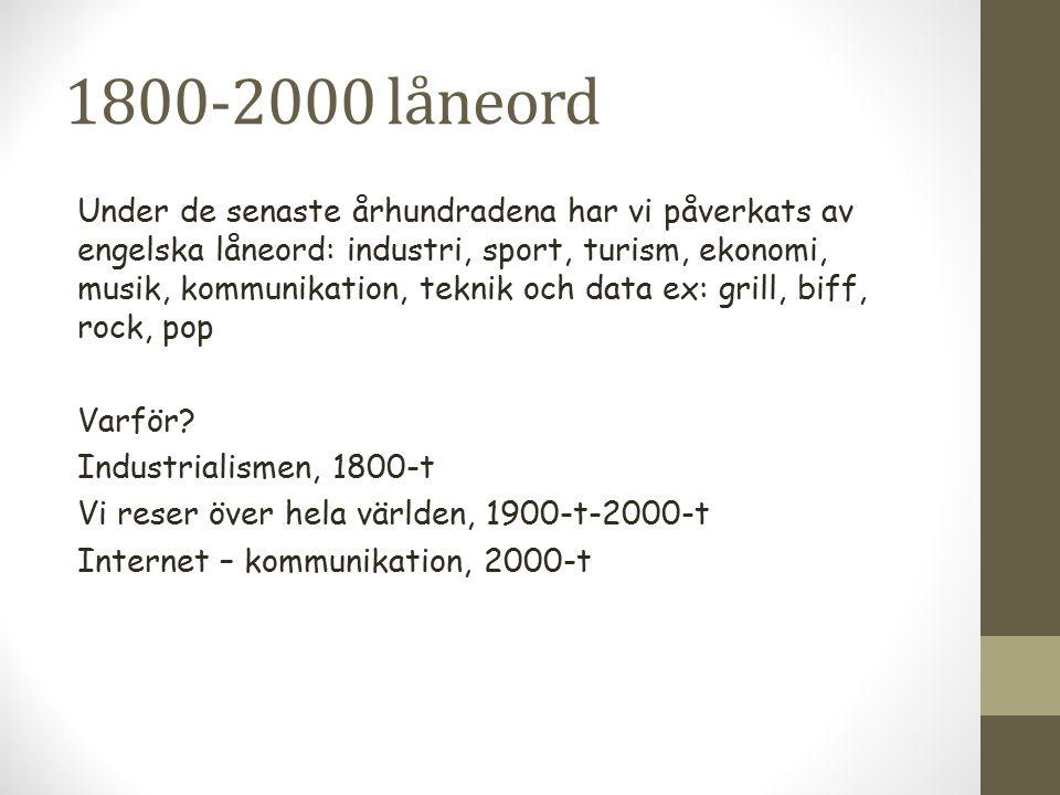 1800-2000 låneord