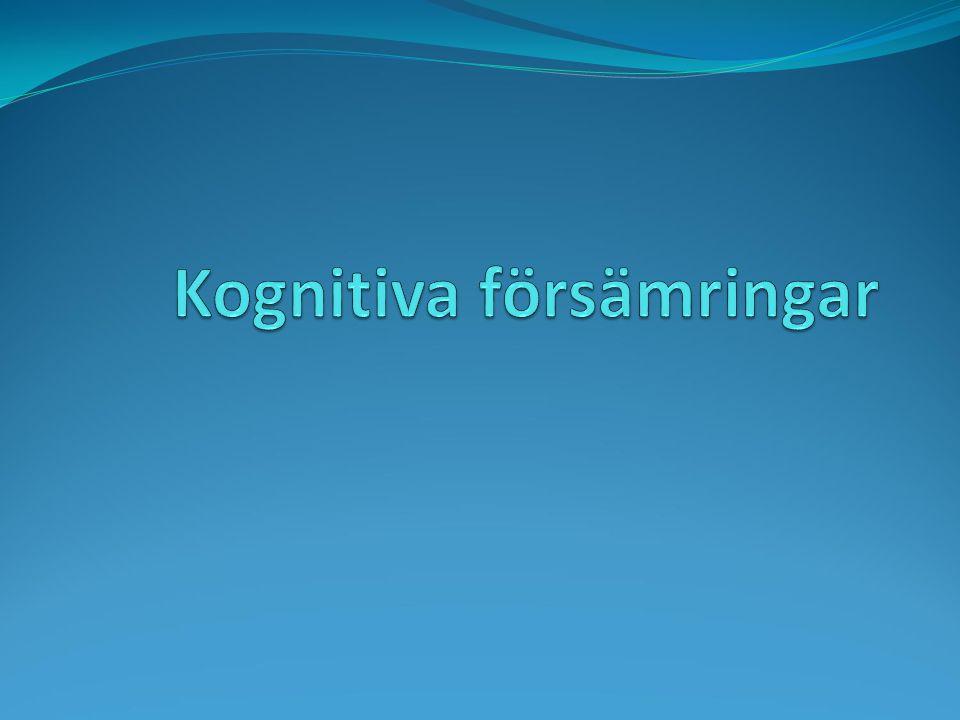Kognitiva försämringar