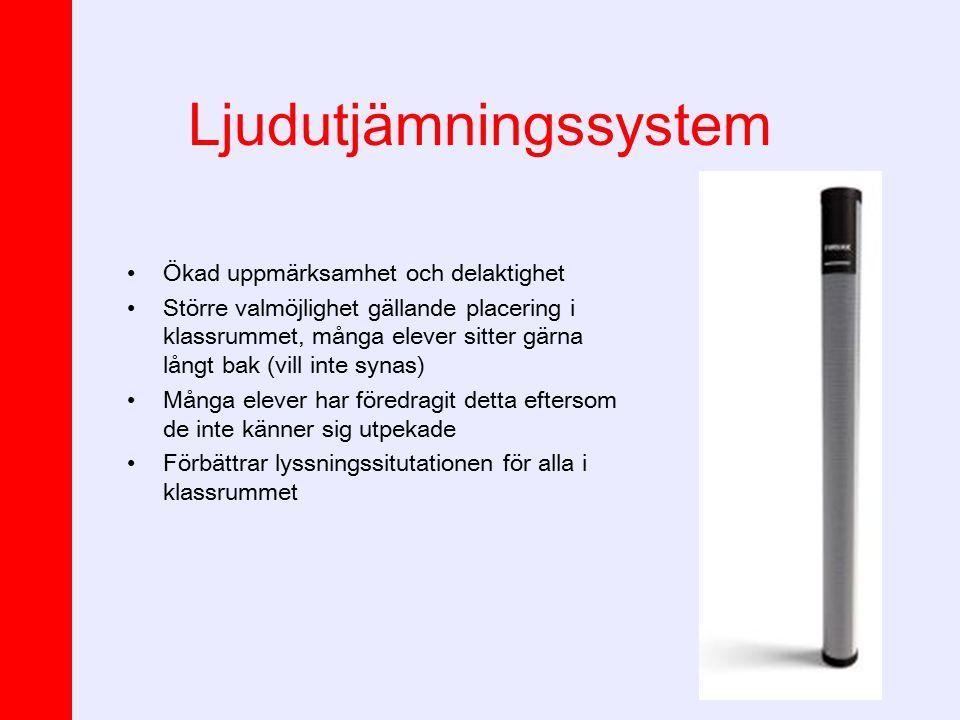Ljudutjämningssystem