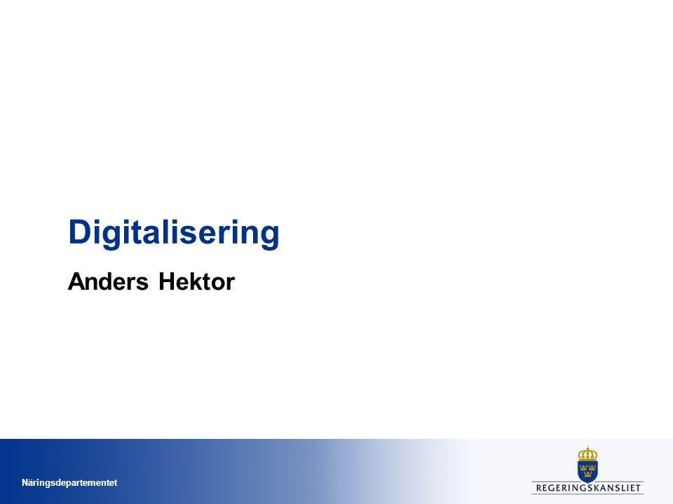 Digitalisering Anders Hektor