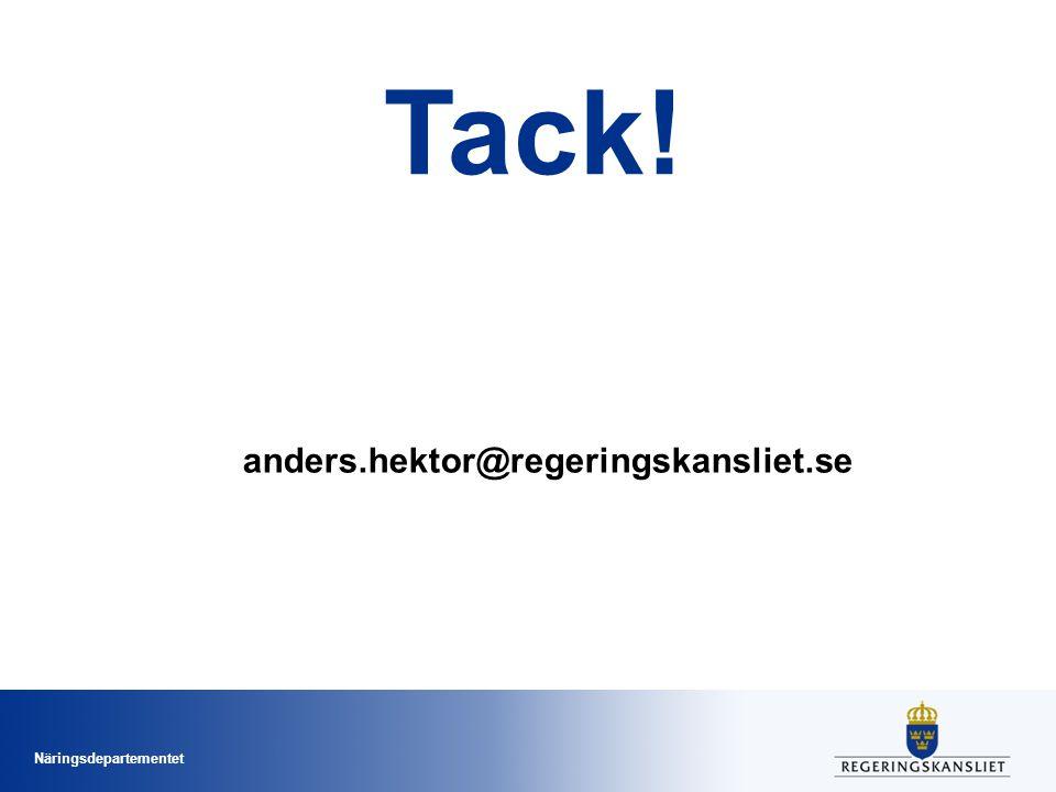 Tack! anders.hektor@regeringskansliet.se