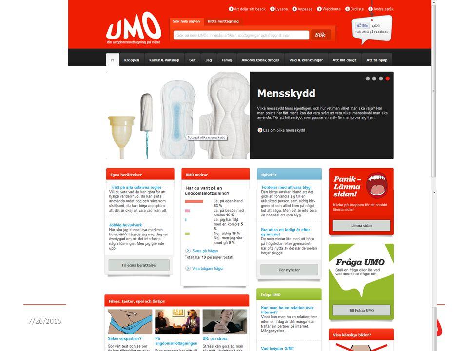UMO idag: Beskriv innehåll och funktioner, tillgänglighetsanpassningar, användbarhet. Könsordsfunktionen.