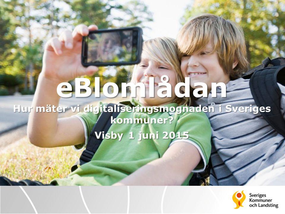 eBlomlådan Hur mäter vi digitaliseringsmognaden i Sveriges kommuner