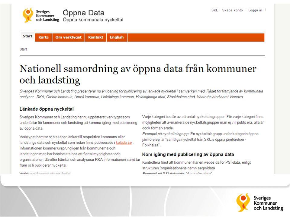 Komma igång med publicering av öppen data genom öppnada