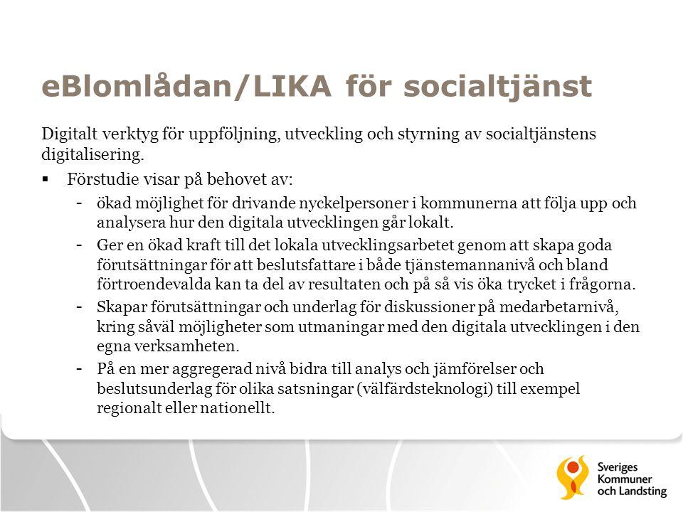 eBlomlådan/LIKA för socialtjänst