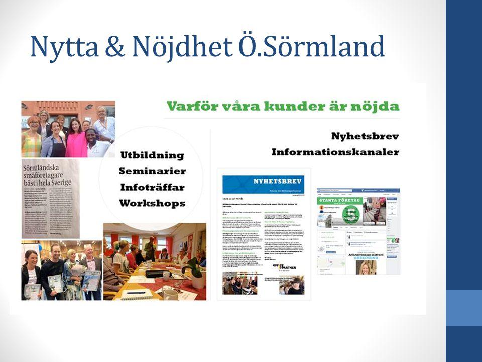 Nytta & Nöjdhet Ö.Sörmland