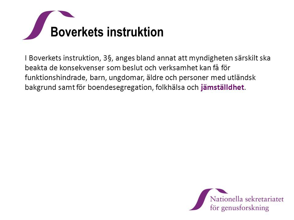 Boverkets instruktion
