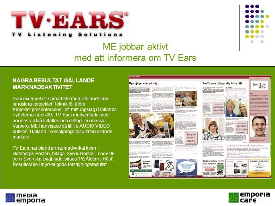 med att informera om TV Ears