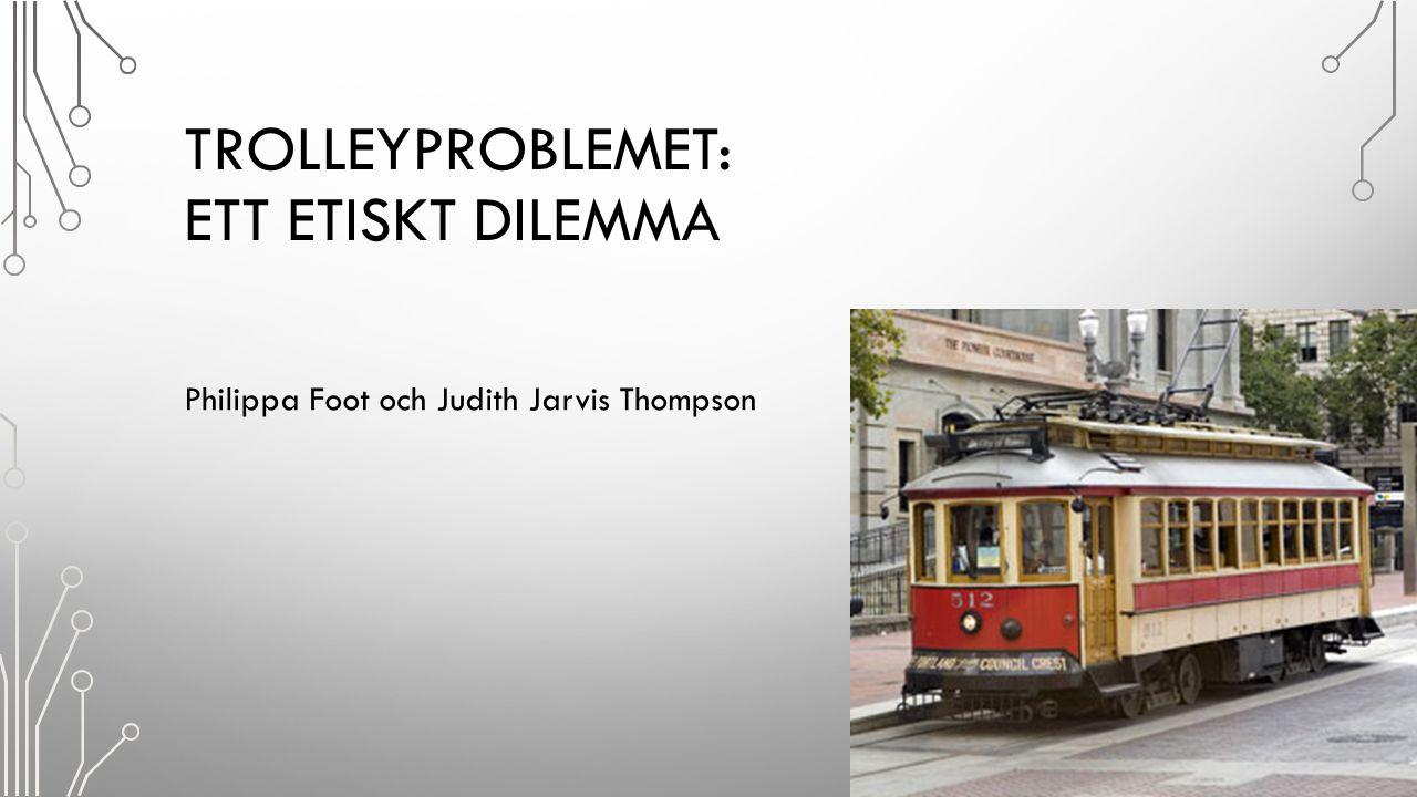 Trolleyproblemet: Ett etiskt dilemma