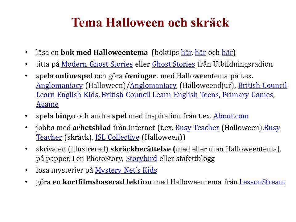 Tema Halloween och skräck