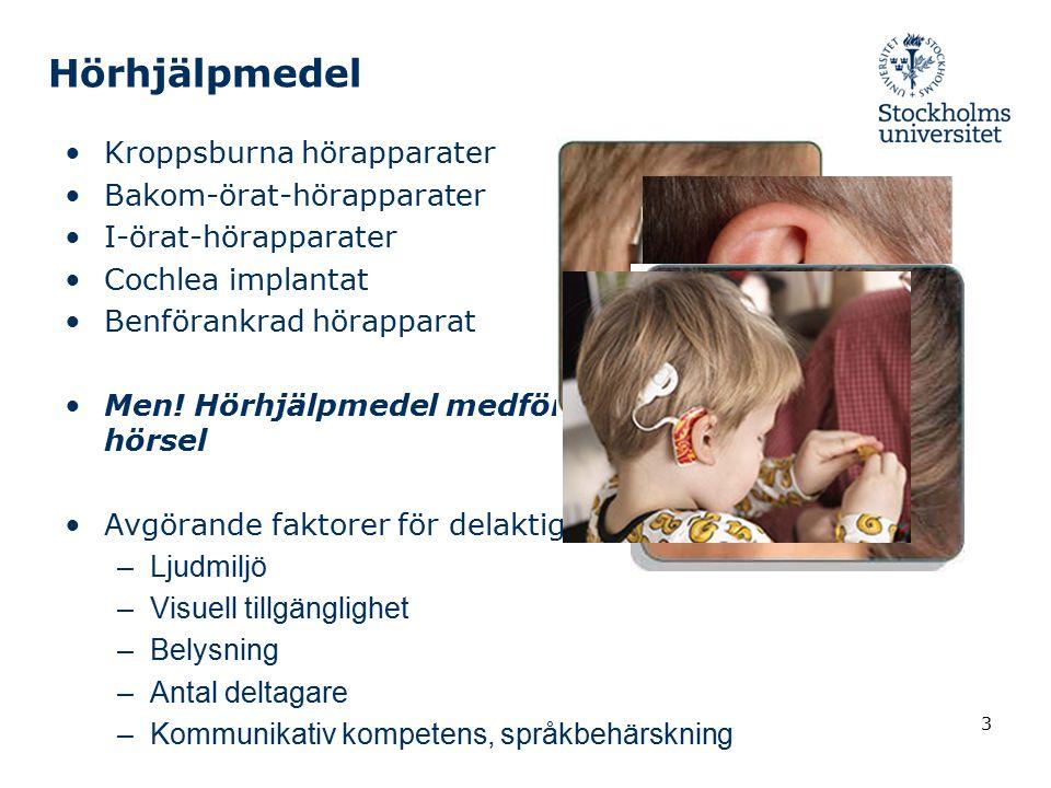 Hörhjälpmedel Kroppsburna hörapparater Bakom-örat-hörapparater