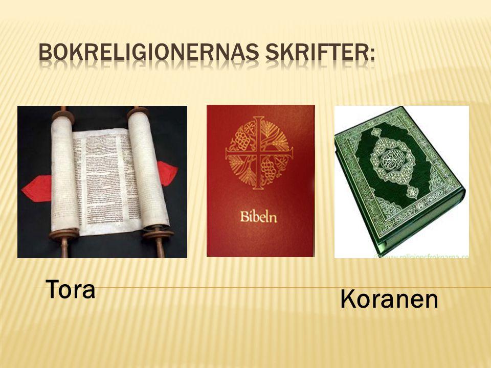 Bokreligionernas skrifter: