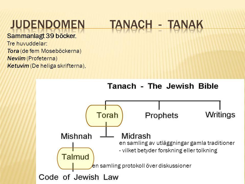 Judendomen Tanach - Tanak
