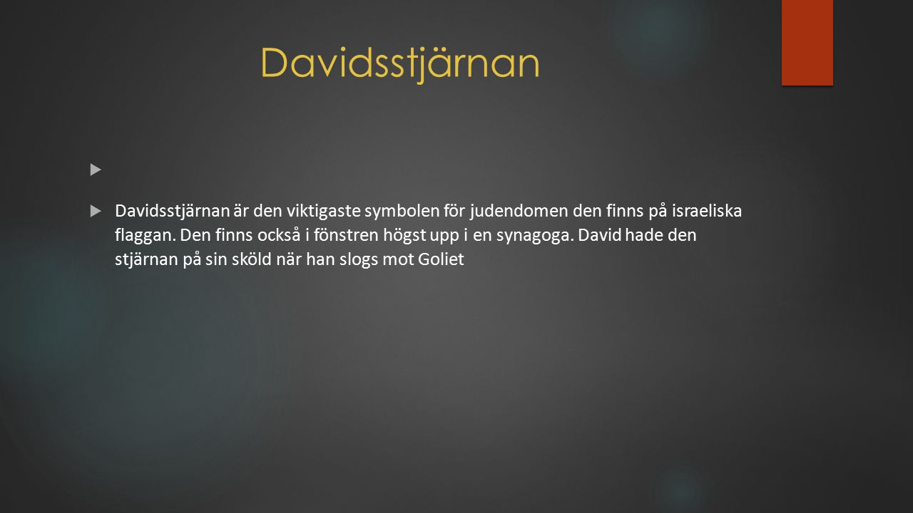 Davidsstjärnan