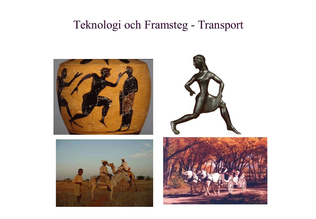 Teknologi och Framsteg - Transport