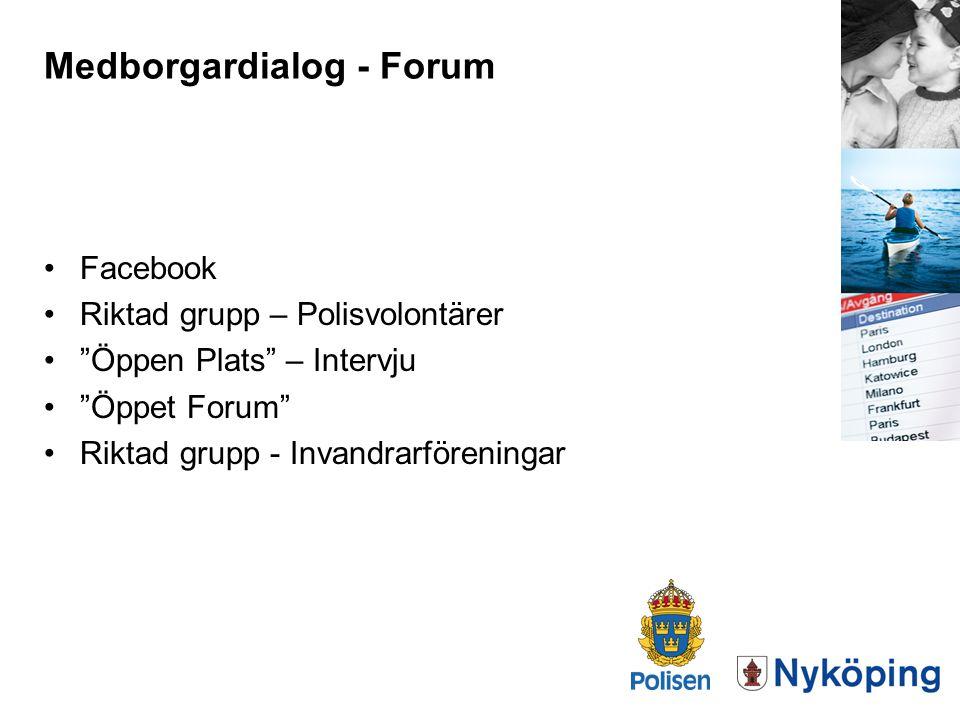 Medborgardialog - Forum
