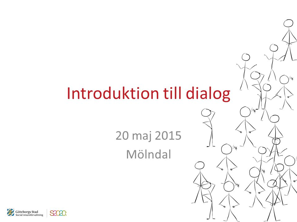 Introduktion till dialog
