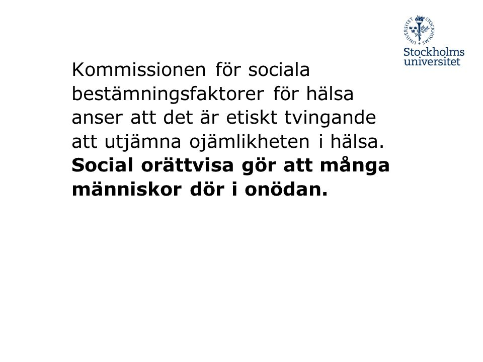Sociologiska Institutionen