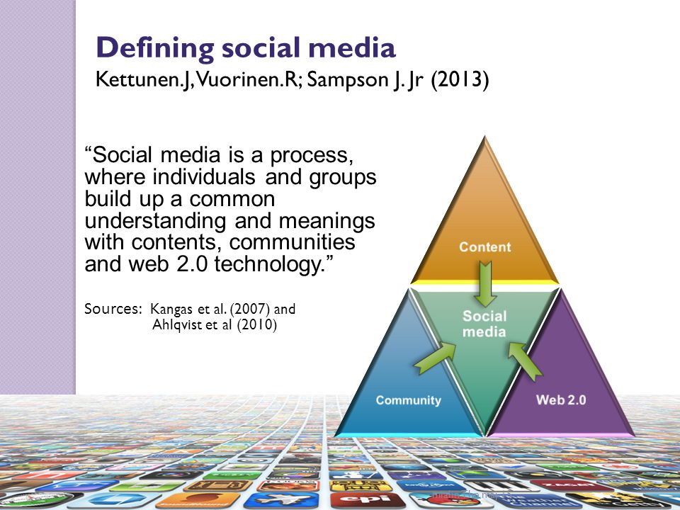 Defining social media Defining social media
