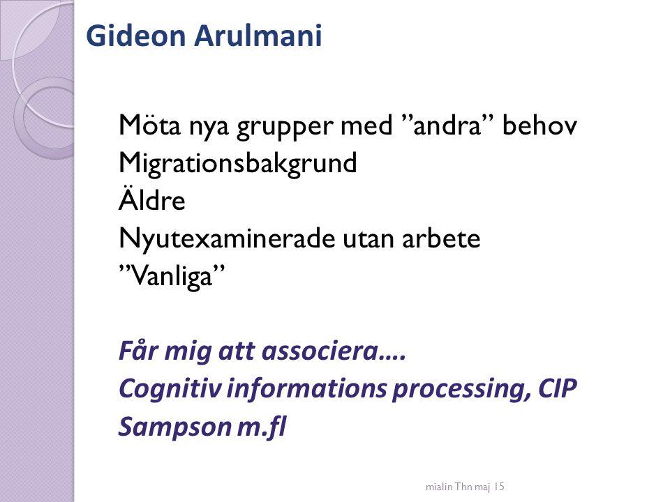 Gideon Arulmani