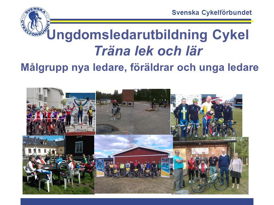 Ungdomsledarutbildning Cykel Träna lek och lär