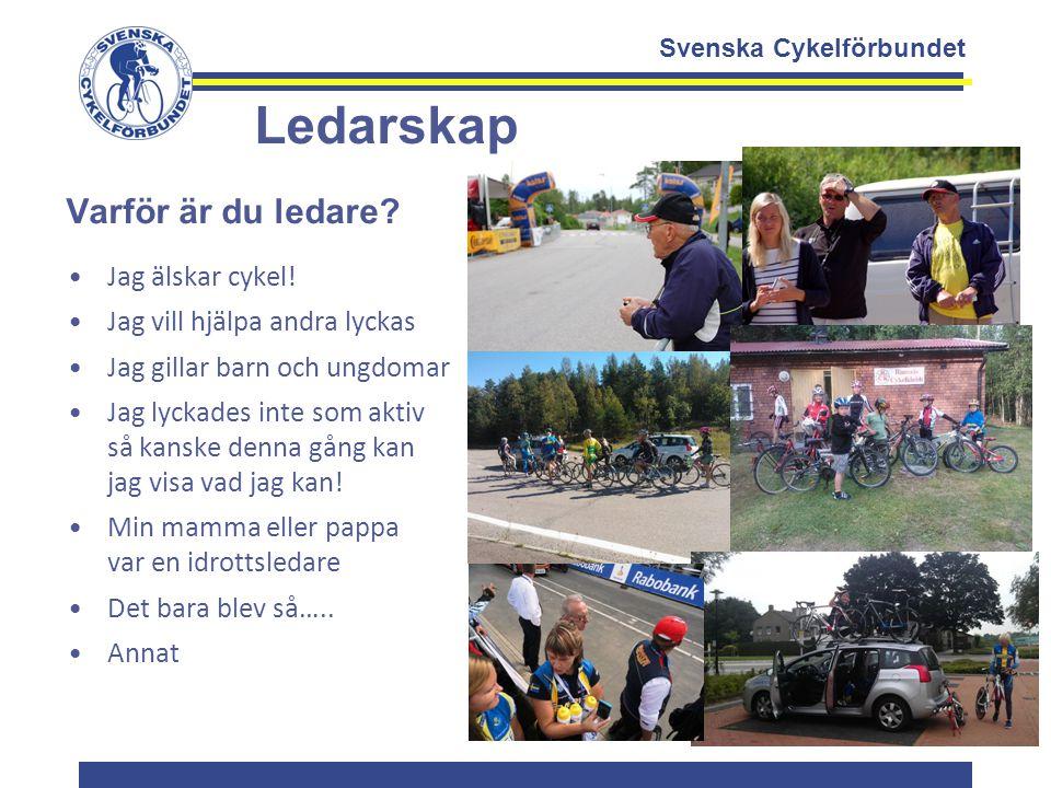 Ledarskap Varför är du ledare Jag älskar cykel!