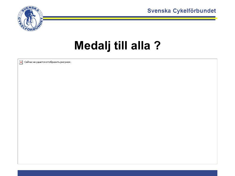 Medalj till alla