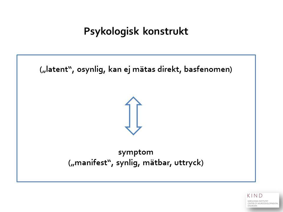 Psykologisk konstrukt