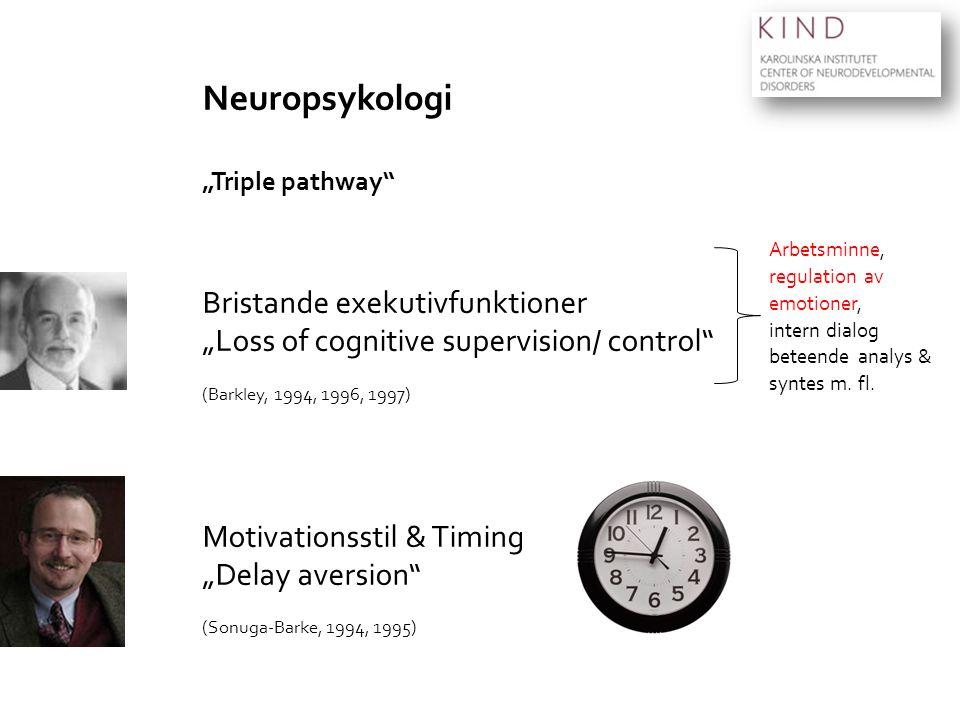 Neuropsykologi Bristande exekutivfunktioner
