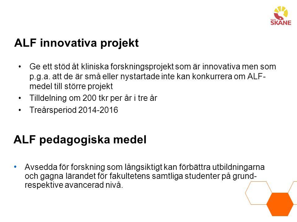 ALF innovativa projekt