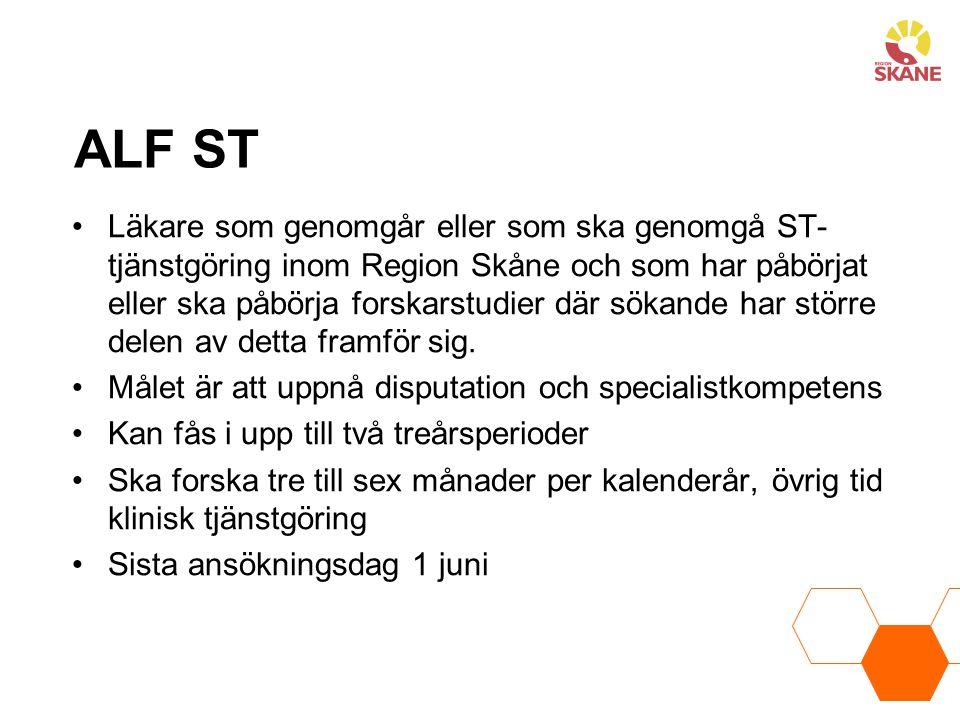 ALF ST