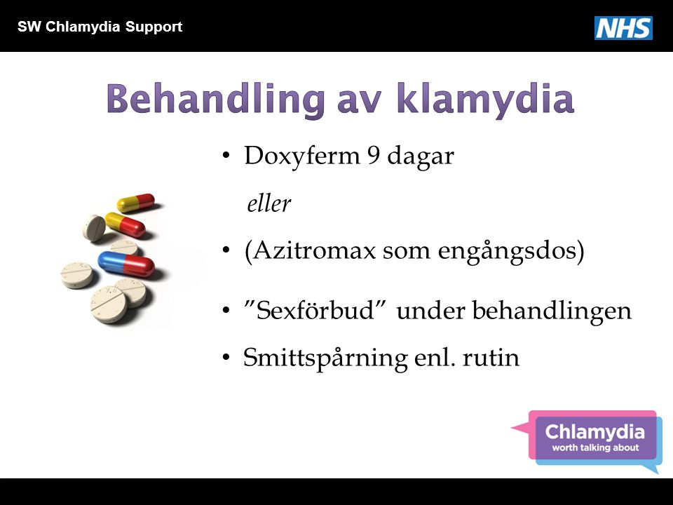 Behandling av klamydia
