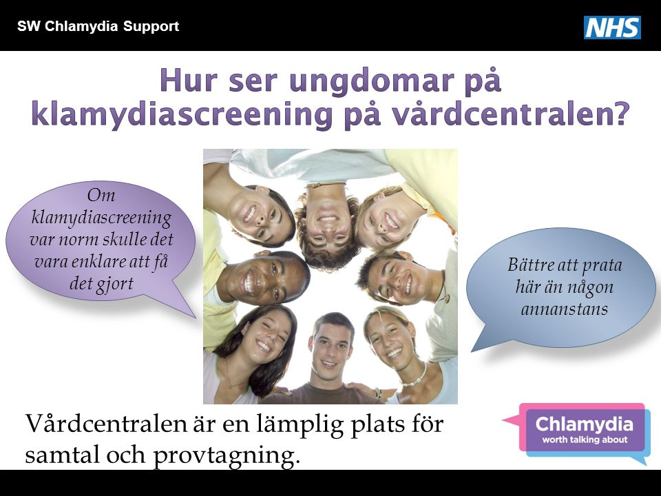 Hur ser ungdomar på klamydiascreening på vårdcentralen