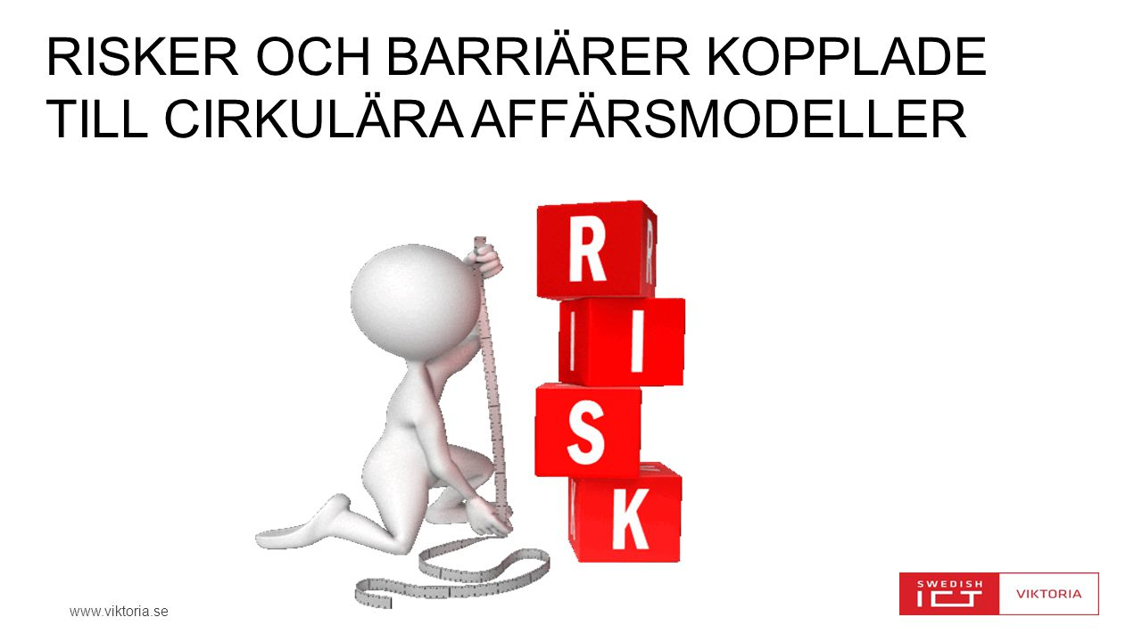 Risker och barriärer kopplade till cirkulära affärsmodeller