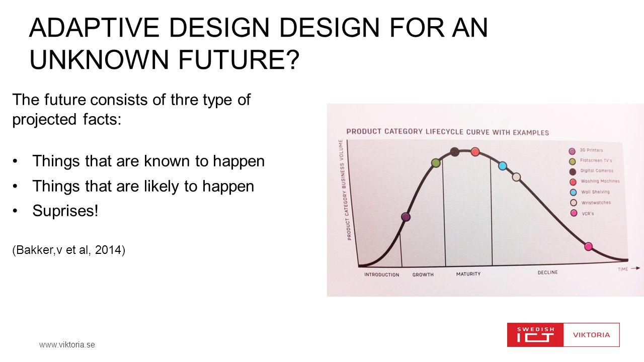 AdaptivE design DESIGN FOR AN UNKNOWN FUTURE