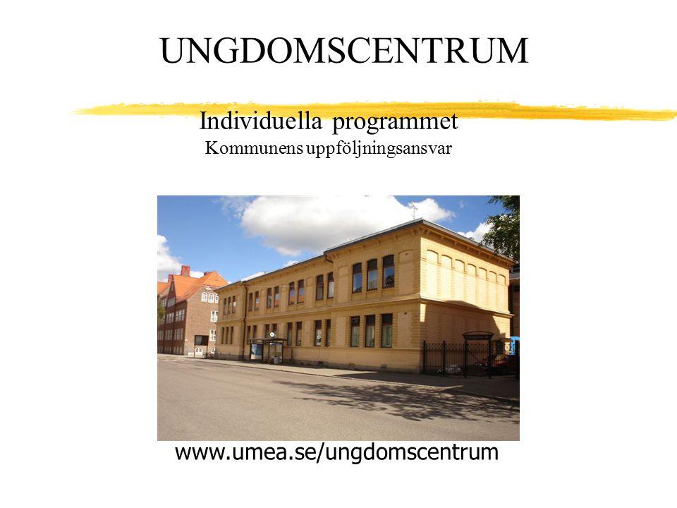 Individuella programmet Kommunens uppföljningsansvar