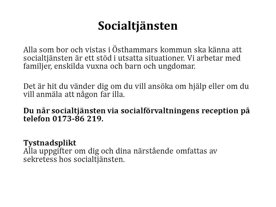 Socialtjänsten